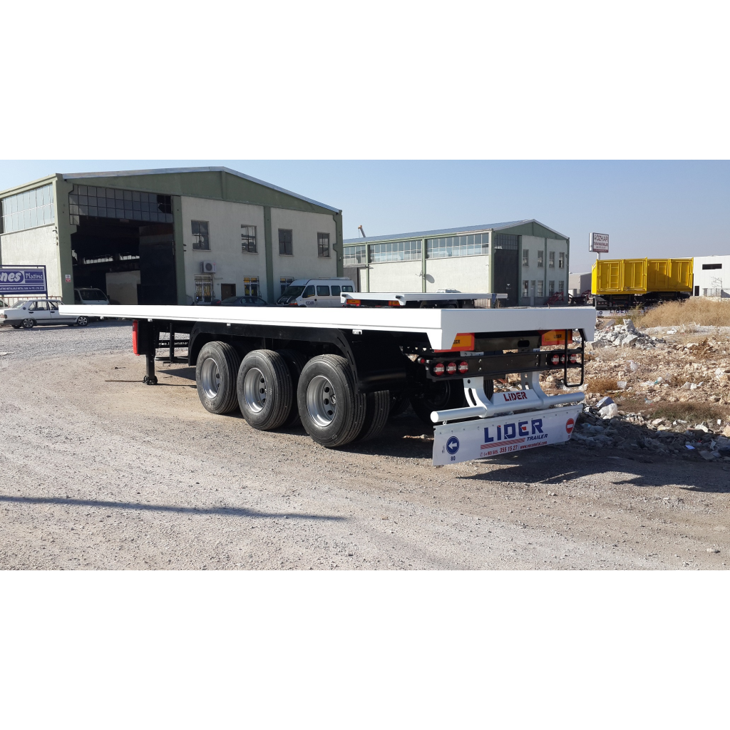 Container carrier Flatbed trailers