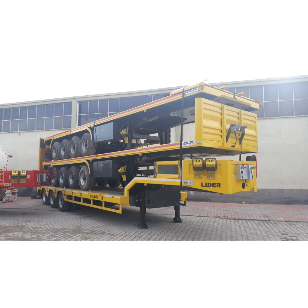 Heavy Transport Flatbed Semi Trailers
